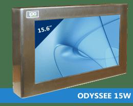 Panel PC coffret Inox Etanche IP66, Panel PC & Moniteur Inox ODYSSEE-15WQA