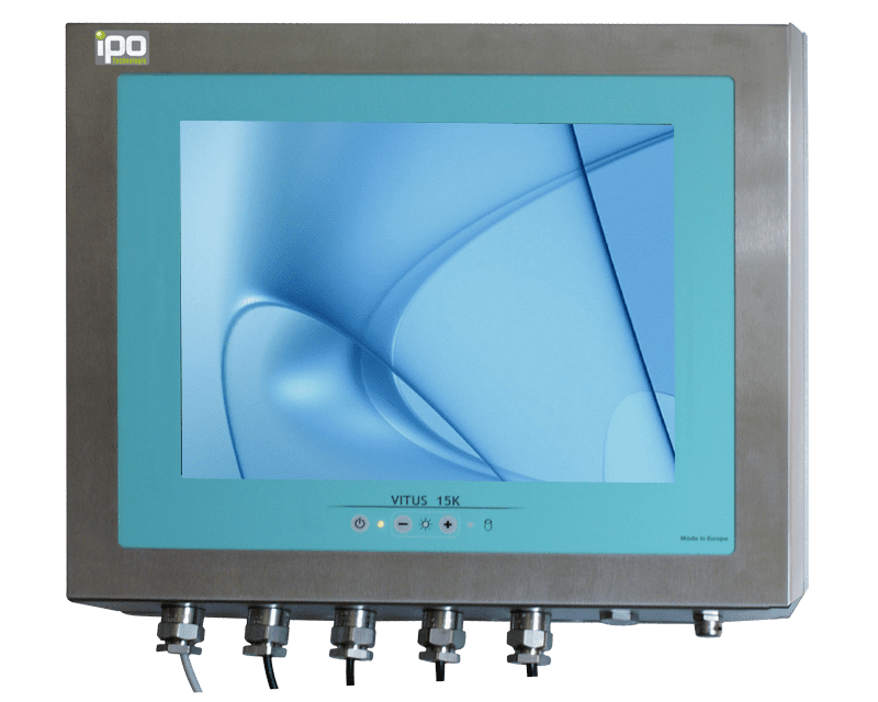 Panel PC Coffret Inox Etanche IP69K, Panel PC & Moniteur Inox : VITUS-15KQ