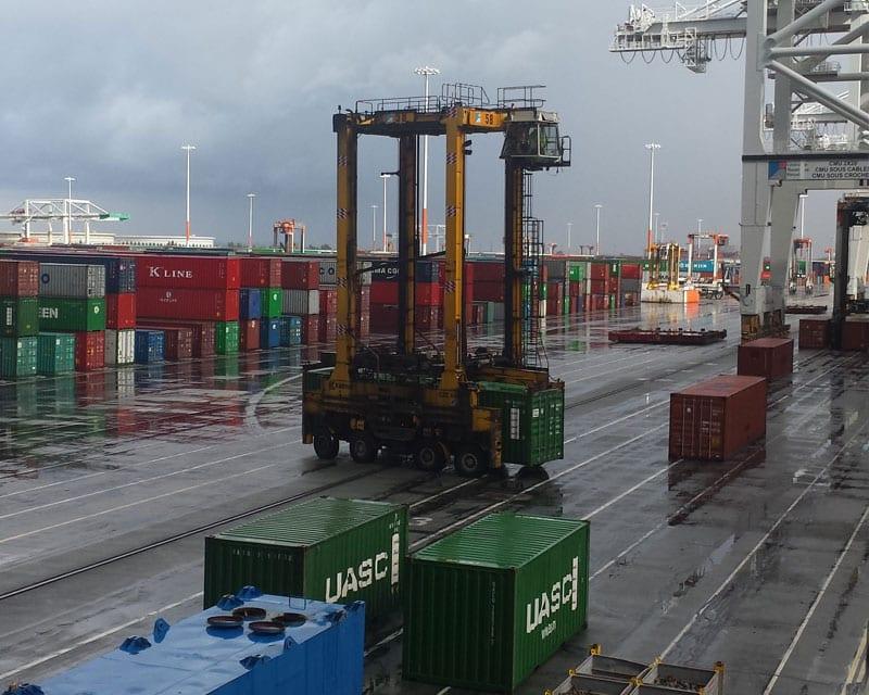port du Havre portique GMP