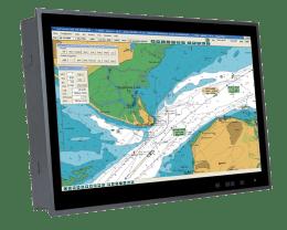 Ecran spécial Marine, Panel PC et Ecran Marine,Solution Partenaires S19M-AD/PC