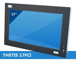 Panel PC Encastrable / Rackable, Panel PC Industriel THETIS-17FCI