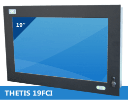 Panel PC Encastrable / Rackable, Panel PC Industriel THETIS-19FCI